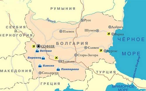Где это находится болгария