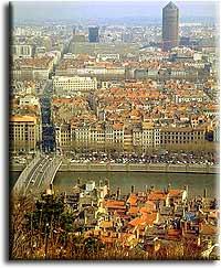 Лион — третий по величине город